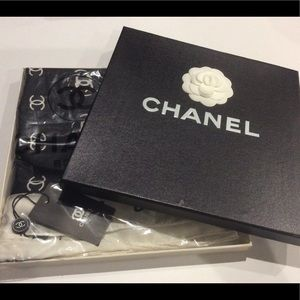 Vintage Chanel Scarf New in Box Still In Plastic